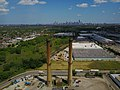 Smokestacks at a former incinerator in Humboldt Park (34671960452).jpg
