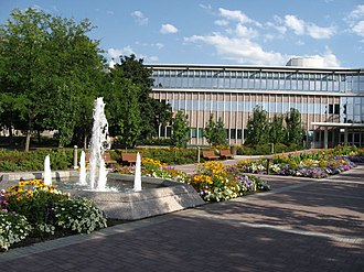 Brigham Young University - The Abraham O. Smoot Administration Building