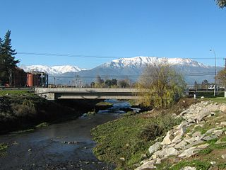 Mostazal Commune in OHiggins Region, Chile