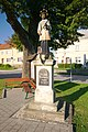 Socha Jana Nepomuckého na náměstí, Protivanov, okres Prostějov (02).jpg