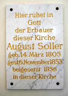 August Soller German architect