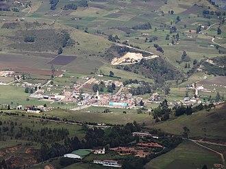 Soracá - Image: Soraca panoramic