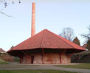 Hoffmann kiln - Lime kiln, Willy Spahn Park in Hannover