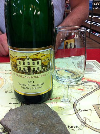 Spätlese - A Spätlese level wine from the Mosel