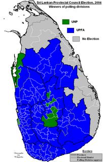 2004 Sri Lankan provincial council elections