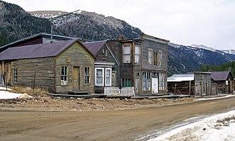 St. Elmo, Colorado - Image: St. Elmo ghost town