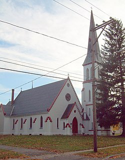 St. Johns Episcopal Church Mount Morris NY Oct 09.JPG