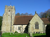 St Bartholomew's Church, Maresfield.JPG