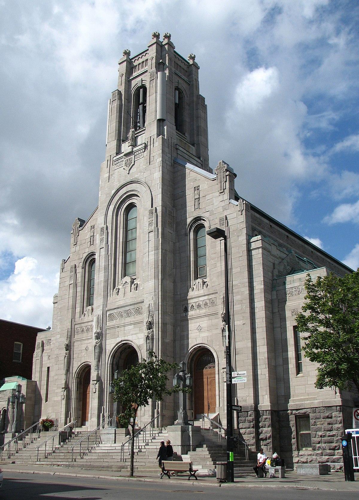 Esprit Art Deco Com saint-esprit-de-rosemont church - wikipedia