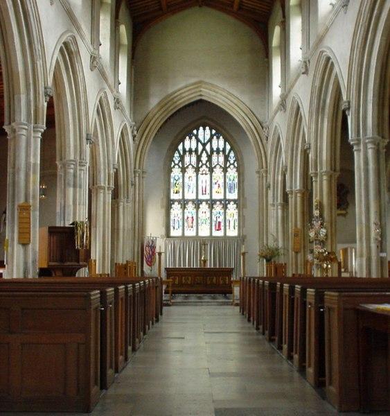 File:St Giles Cripplegate Interior.jpg