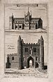 St John's Abbey Church, above, and St John's Gate, below, Cl Wellcome V0013156.jpg
