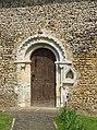St John the Evangelist, Ovington Norfolk - Doorway - geograph.org.uk - 808597.jpg