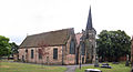 St Laurence's Church, Long Eaton, from Market Place (2&3).jpg