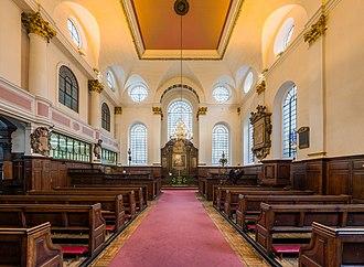 St Margaret Pattens - Image: St Margaret Pattens Interior 1, London, UK Diliff