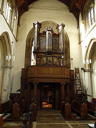 Church of St Michael the Archangel, Framlingham - The Thamar organ