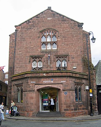 Grade II listed buildings in Chester (central) - Image: St Nicholas' Chapel