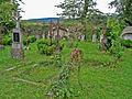 St Nicholas Church cemetery in Kašperské Hory.jpg
