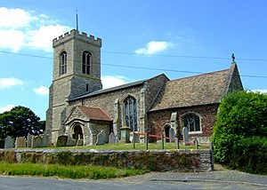 Kings Ripton - Image: St Peter's, Kings Ripton geograph.org.uk 839692