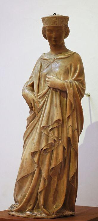 Saint Reparata - Statue of Reparata.  Andrea Pisano.
