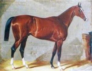St. Gatien - Painting of St. Gatien. Unknown artist.