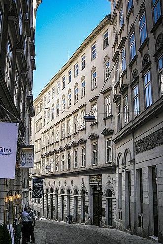 Israelitische Kultusgemeinde Wien - The IKG's main building in the Seitenstettengasse