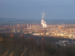Differdange and its steel factory