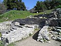 Staircase leading to the early christian Basilica A, Philippi (7272427102).jpg