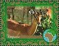 Stamp of Abkhazia - 2007 - Colnect 1010924 - Impala.jpeg