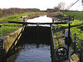 Standards lock, Taunton and Bridgwater canal - geograph.org.uk - 313647.jpg