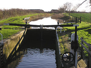 Bridgwater and Taunton Canal - Standard's Lock