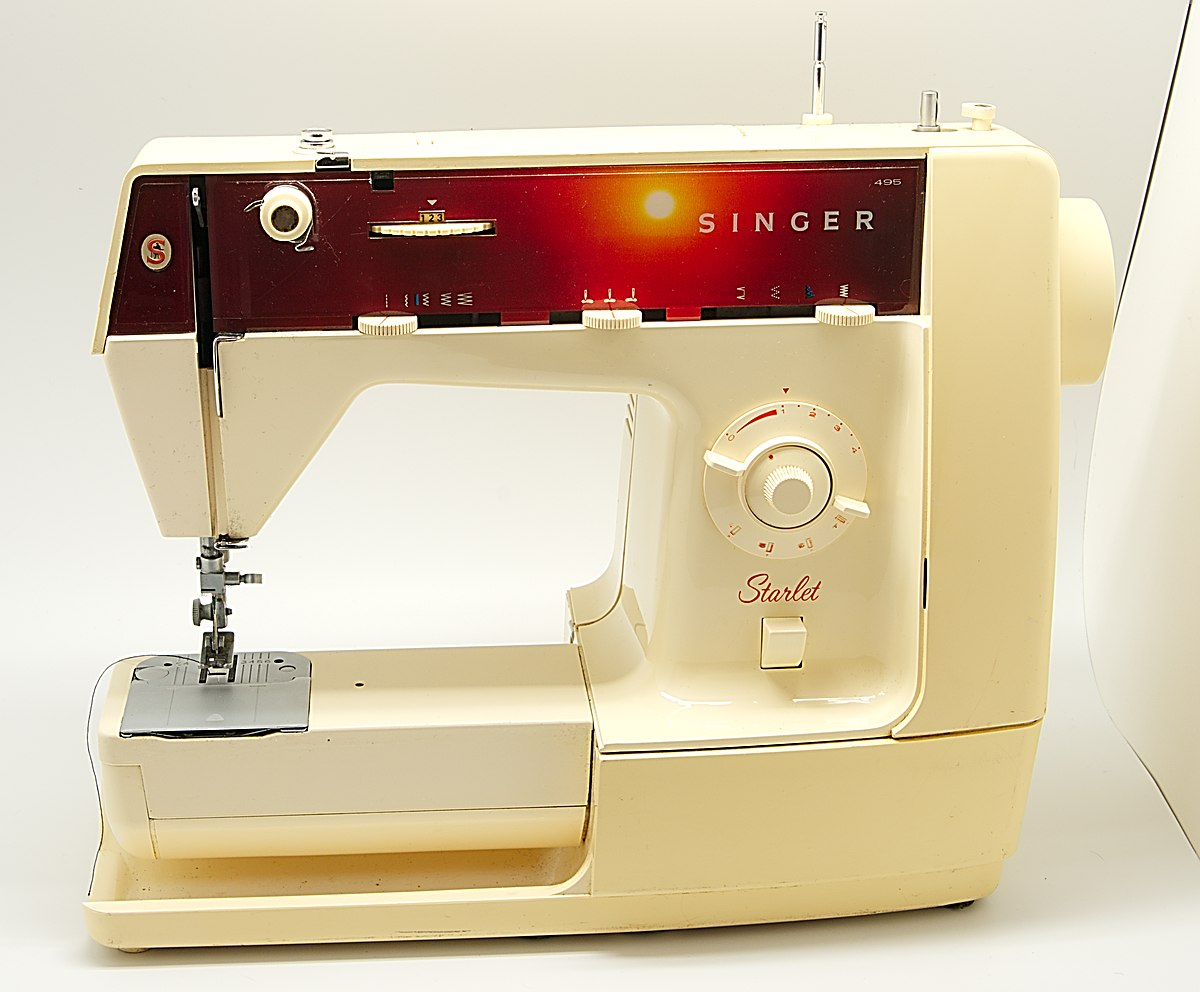 Máquina de coser - Wikipedia, la enciclopedia libre