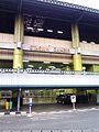 Stasiun Gambir dilihat dari sisi barat (yang berhadapan dengan Monas) - panoramio.jpg