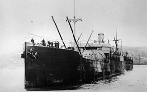Arthur Winton Brown - SS Waihora