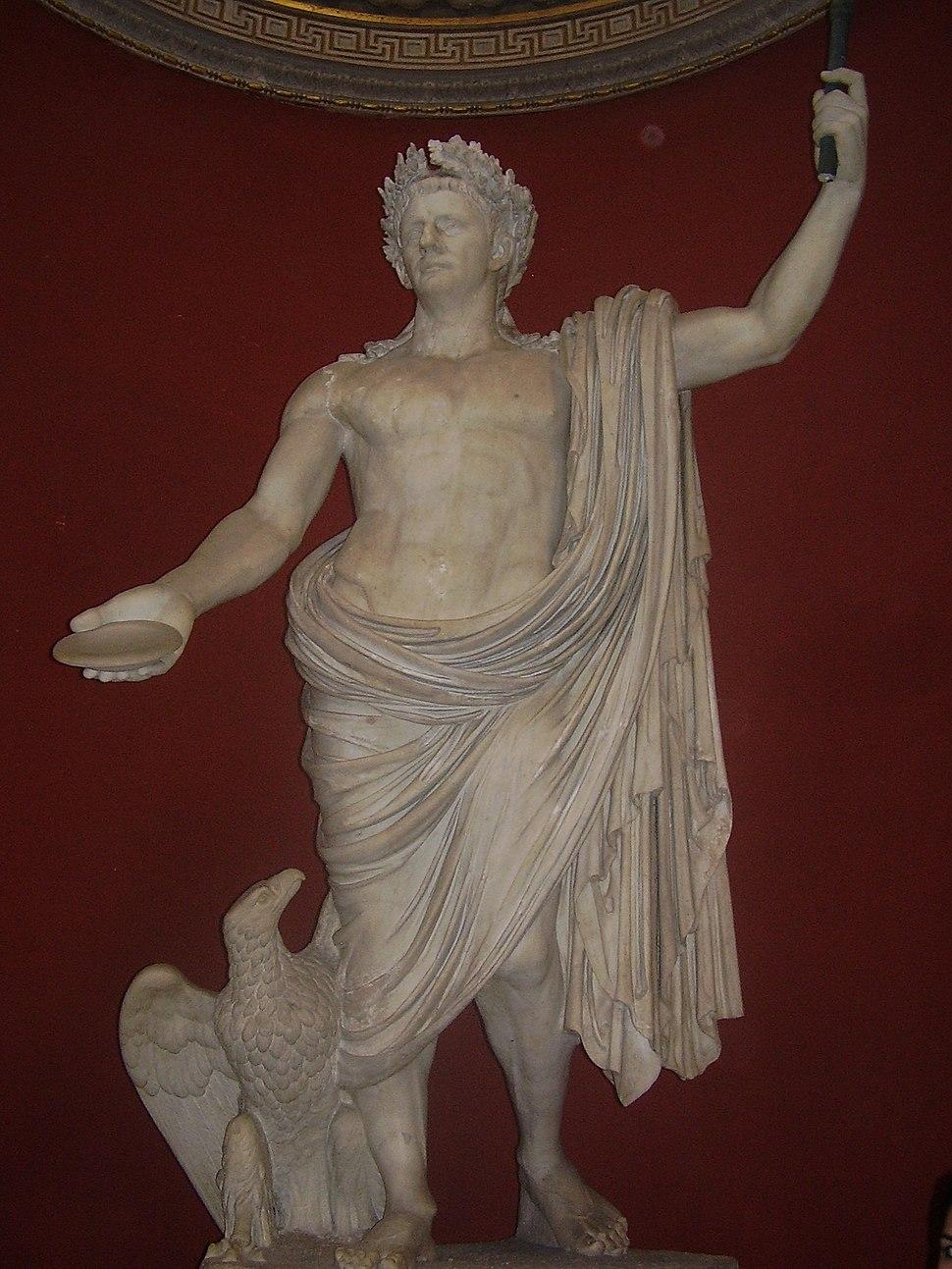 Statue Claudius Vatikanische Museen
