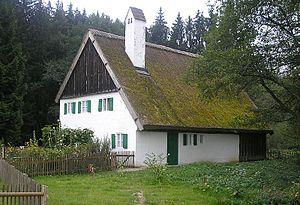 Augsburg Western Woods Nature Park - Image: Staudenhaus 3