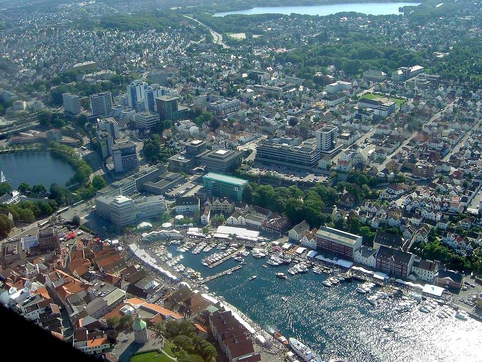 Stavanger Sentrum-Airphoto-modf