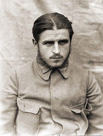 Stefan Starzyński - Stefan Starzyński as a soldier of Polish Legions