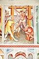 Steinfeld Gerlamoos Filialkirche heiliger Georg Freske 3 Marter mit Eisenkrallen 20122012 963.jpg