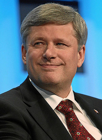2011 Canadian federal election - Image: Stephen Harper by Remy Steinegger Infobox