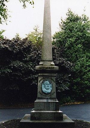 Rayner Stephens - Stephens Memorial, Stamford Park, Stalybridge