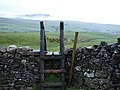 Stile on the path to Horton - geograph.org.uk - 283318.jpg