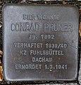 Stolperstein Baumwall 7 (Conrad Pruner) in Hamburg-Neustadt.JPG