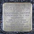 Stolperstein Behrenstr 55–57 (Mitte) Hans W Schapira.jpg