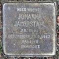 Stolperstein Douglasstr 11 (Grune) Johanna Jacobstahl.jpg