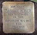 Stolperstein Helmstedter Str 22 (Wilmd) Dagmar Peiser.jpg