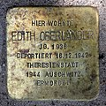 Stolperstein Hohenzollerndamm 4 (Wilmd) Edith Oberländer.jpg