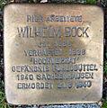 Stolperstein Kurt-Schumacher-Allee 10 (Wilhelm Bock) in Hamburg-St. Georg.JPG