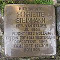Stolperstein Steinfurt Markt 1 Henriette Steinmann.jpg