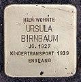 Stolperstein Thomasiusstr 14 (Moabi) Ursula Birnbaum.jpg