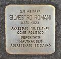 Stolperstein für Silvestro Romani.JPG